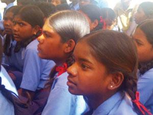 The teacher's training camp in Jagadalpur