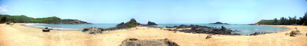 Om beach at Gokarna