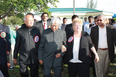 Dr. A.P.J. Abdul Kalam with The Mayor of the Town of Davie