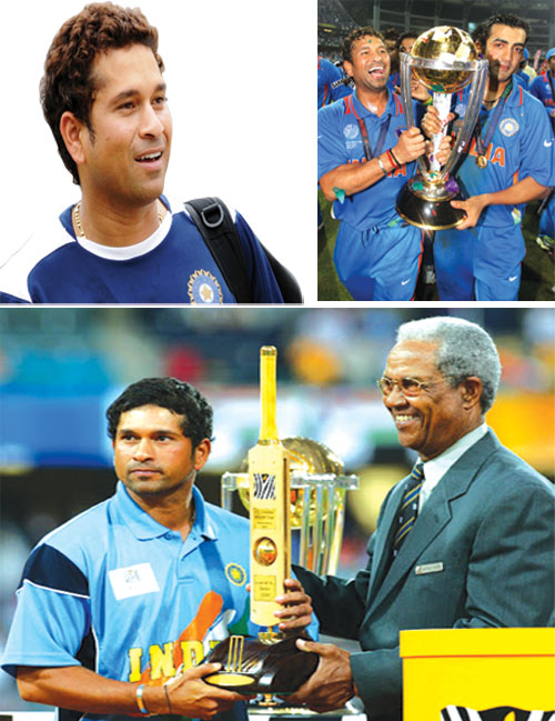 Sachin man of the match