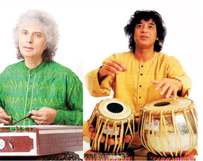 Pandit Shiv Kumar Sharma and Zakir Hussain