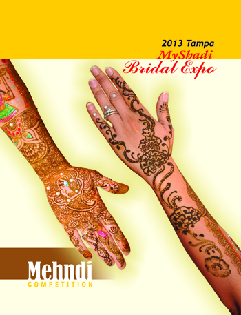 2013 Tampa MyShadi Bridal Expo Mehndi Competition