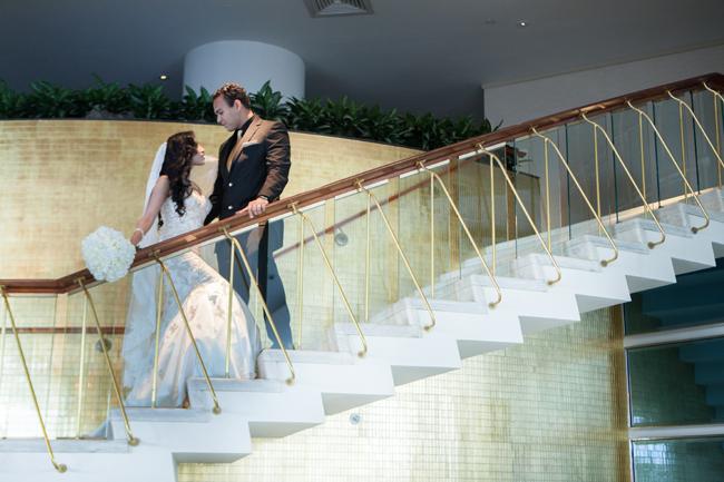 Lisa weds Antonio