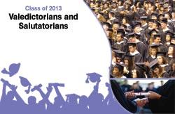 Class Of 2013 Valedictorians And Salutatorians