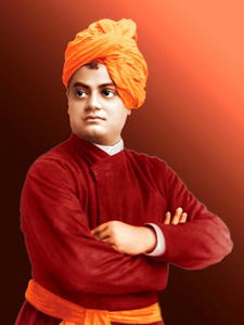 swami vivekanand standing