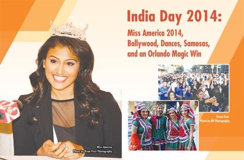 India Day 2014: Miss America 2014, Bollywood, Dances, Samosas, and an Orlando Magic Win