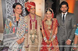 Farhan Akhtar at Abhinav Jhunjhunwala and Prerna Sarda wedding