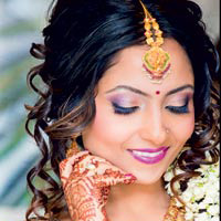 South Asian Brides: Sleep vs. Beauty How to get 5 more minutes of sleep on your wedding day:By Michele Renee
