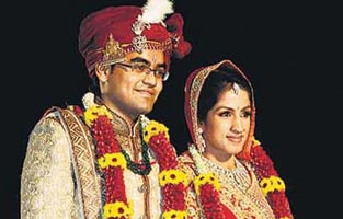 Tanushree Dhoot and Vivek Biyani