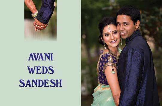 Avani weds Sandesh
