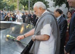 PM Narendra Modi Visits Ground Zero