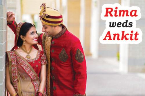 Rima weds Ankit