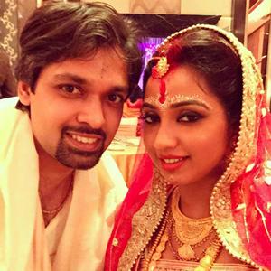 Shreya Ghoshal and Shiladitya Mukhopadhyaya