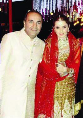 Sanjay Hindujaad weds Anu Mahtani's Udaipur Wedding