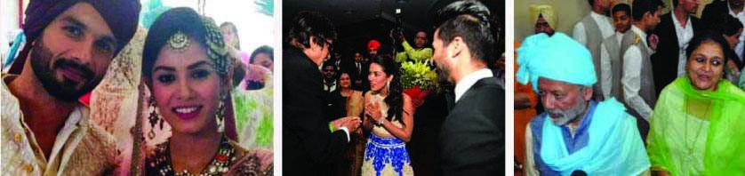 Shahid Kapoor – Mira Rajput Wedding
