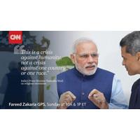 Fareed Zakaria Interviews Indian Prime Minister Narendra Modi