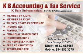 K.b.accounting & tax service