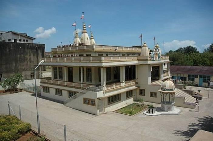The Swaminarayan Temple in Dar Es Salaam, Tanzania