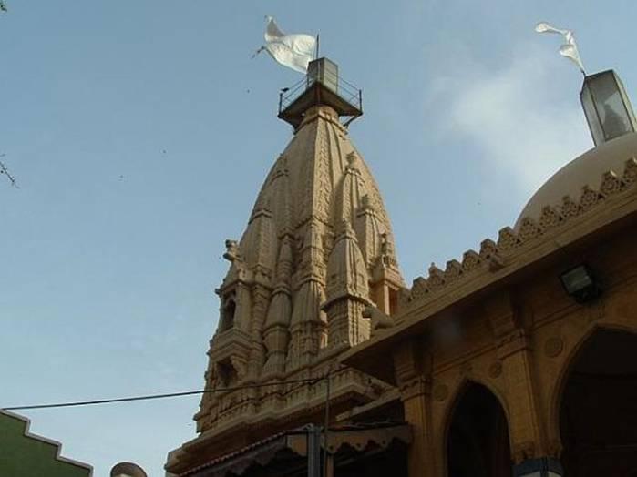 The Swaminarayan Temple in Karachi, Pakistan