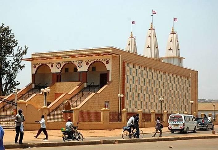 The Swaminarayan Temple in Kampala, Uganda