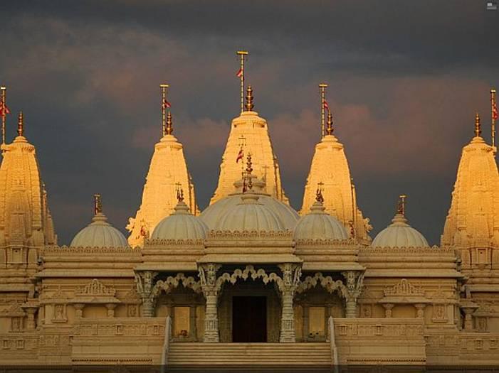 The Swaminarayan Mandir in Atlanta