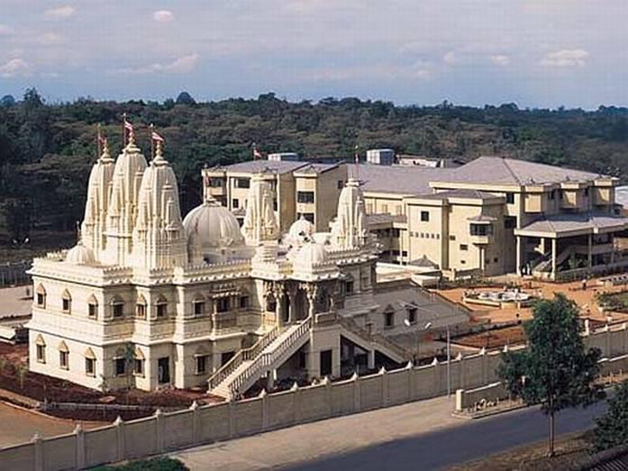 The Swaminarayan Mandir in Nairobi