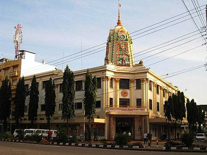 The Swaminarayan Temple in Mombasa