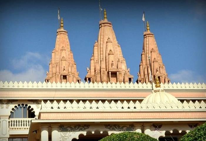 The East African Satsang Swaminarayan Temple in Nairobi