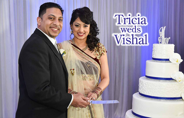 Tricia Weds Vishal