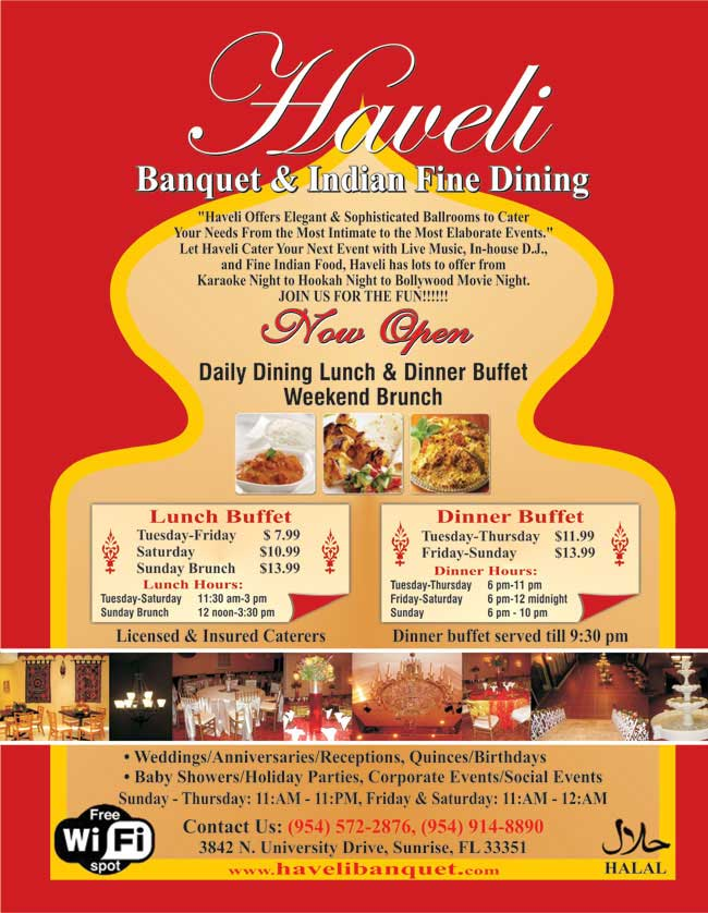 Haveli Banquet & Indian Fine Dining