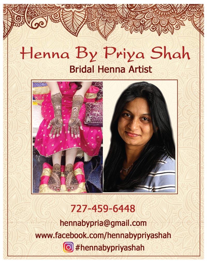 Henna By Priya Shah
