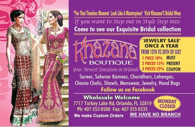 Khazana Boutique - Exquisite Bridal Collection