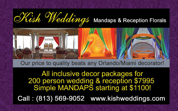 Kish (Kisna) Weddings - Weddings of our service