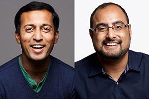 Neeraj Barry and Gagan Biyani