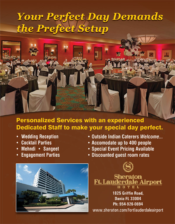 Sheraton Ft. Lauderdale Airport Hotel, Phone: 954-926-0694