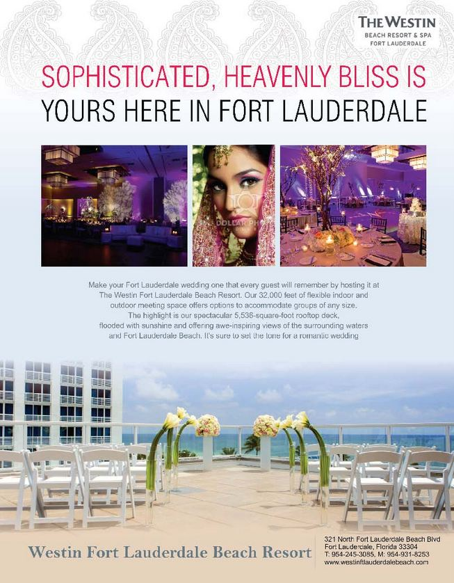 Westin Fort Lauderdale Beach Resort, Phone: 954-245-3085, Cell: 954-931-8253