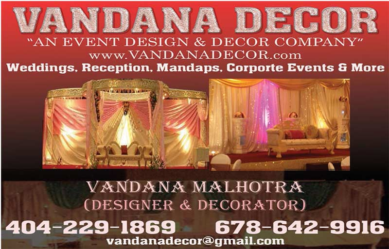 Vandana Decor - an event decor and design company