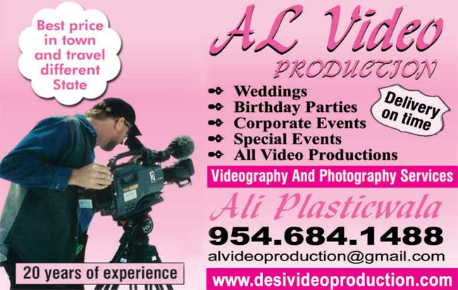 Al Video Production, Phone: 954-684-1488, Email: alvideoproduction@gmail.com