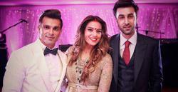 Ranbir Kapoor at pre-wedding photoshoot with Karan & Bipasha