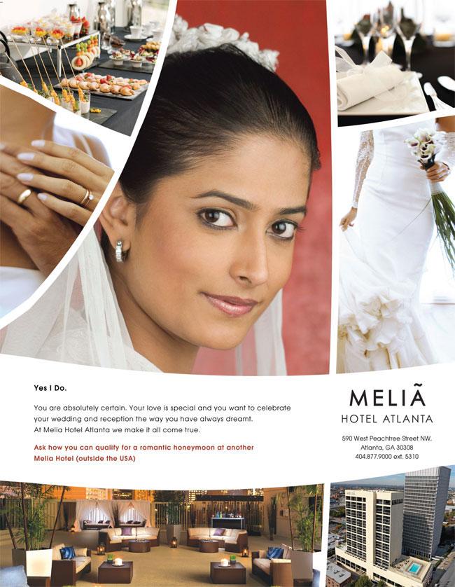 Melia Atlanta Hotel, Phone: 404-877-9000 ext. 5310