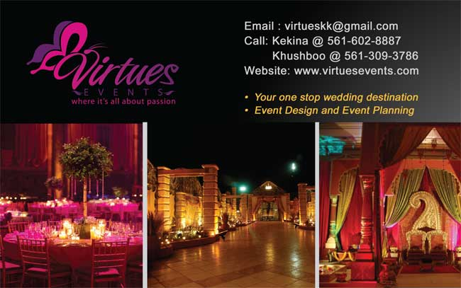Virtues Events - Events Planning of our service