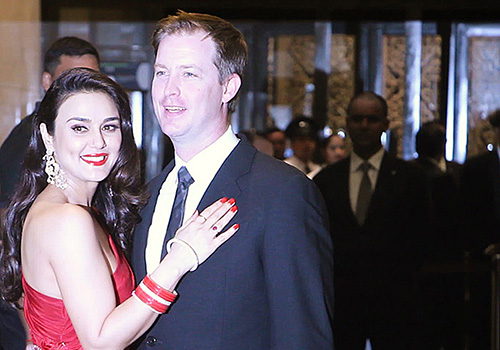 Preity Zinta and Gene Goodenough