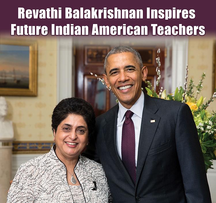 Revathi Balakrishnan Inspires Future Indian American Teachers