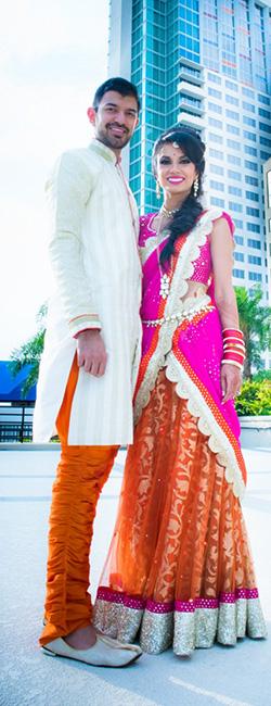 Ritisha and Abhishek