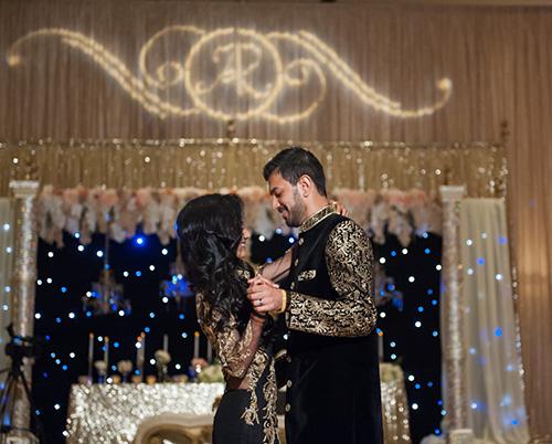 Ritisha and Abhishek's Reception