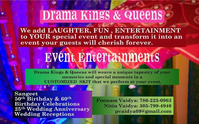 Drama Kings & Queens Event Entertainmen