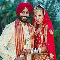 Julie weds Manreet