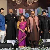 Anup Jalota Aashim Gulati Aditya Seal Anubhav Sinha Rekha Bharadwaaj HariHaran And Jaswinder Singh 612x408