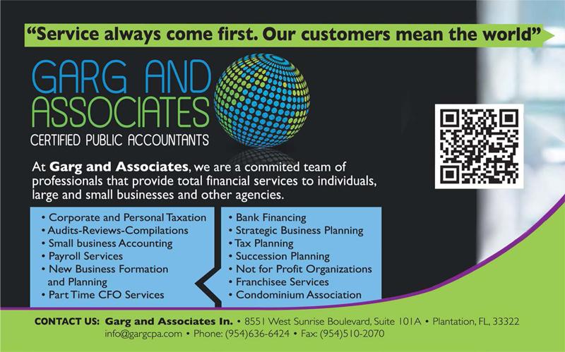 Garg & Associates inc