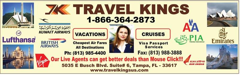 Travel Kings USA Inc